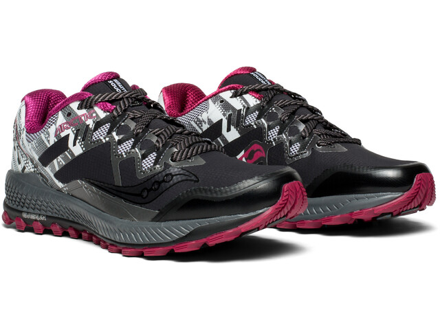 Saucony Peregrine 8 ICE+ Running Shoe - black/white | Running shoes